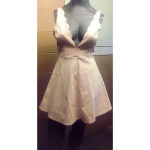 Akira Chicago Light Rose Dress